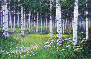 Aspen Grove by Richard Galusha